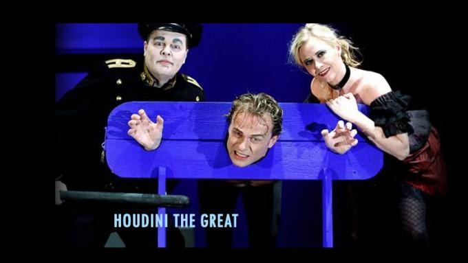 Houdini den Store